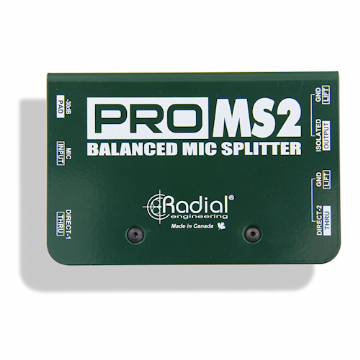 Radial Pro MS2 - Passive 3 Way Microphone Splitter
